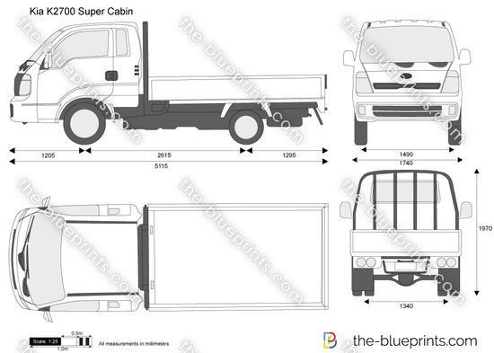 Kia K2700 Super Cabin