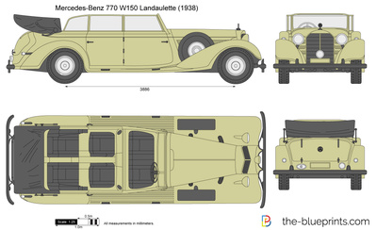 Mercedes-Benz 770 W150 Landaulette