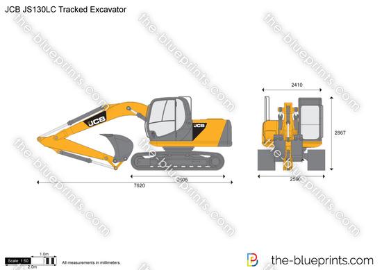 JCB JS130LC Tracked Excavator