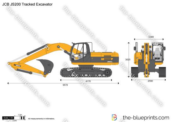 JCB JS200 Tracked Excavator