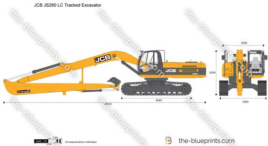 JCB JS260 LC Tracked Excavator
