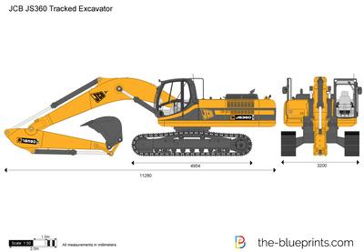 JCB JS360 Tracked Excavator