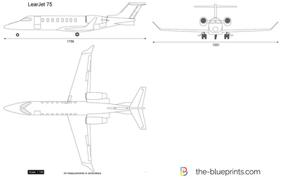 Learjet 75 vector drawing learjet 75 malvernweather Images