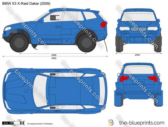 BMW X3 X-Raid Dakar