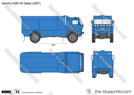KamAZ 4326 VK Dakar