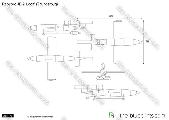 Republic JB-2 'Loon' (Thunderbug)