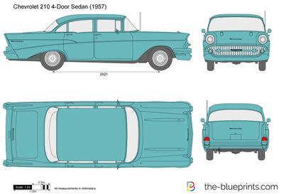 Chevrolet 210 4-Door Sedan (1957)