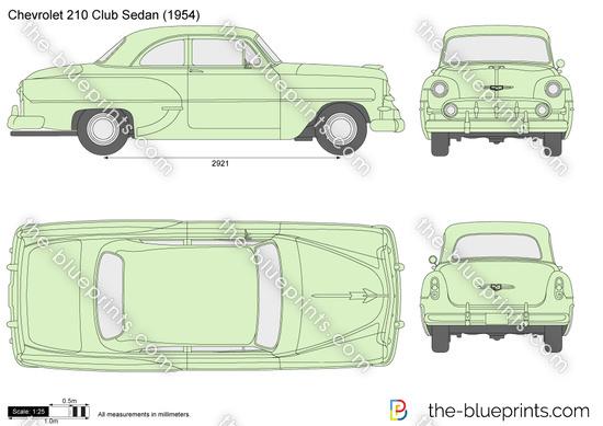 Chevrolet 210 Club Sedan
