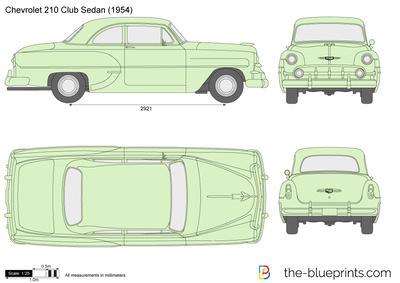 Chevrolet 210 Club Sedan (1954)