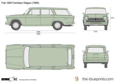 Fiat 1800 Familiare Wagon (1960)