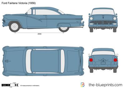 Ford Fairlane Victoria (1956)
