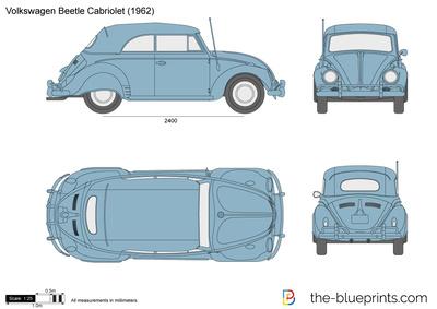 Volkswagen Beetle Cabriolet (1962)
