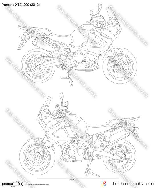 Yamaha XTZ1200