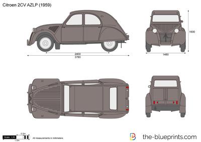 Citroen 2CV AZLP (1959)
