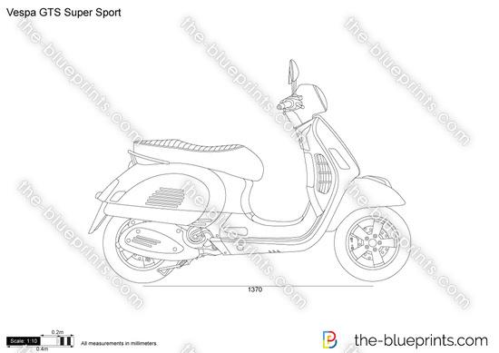 Vespa GTS Super Sport
