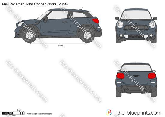 Mini Paceman John Cooper Works R61