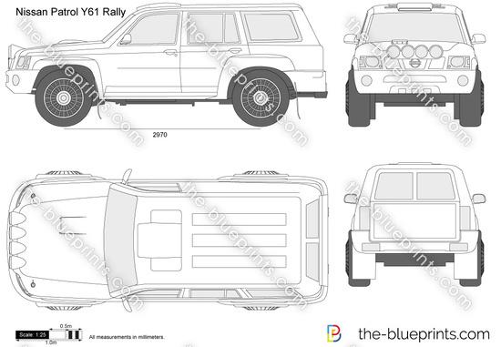 Nissan Patrol Y61 Rally