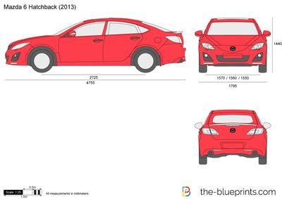 Mazda 6 Hatchback (2013)