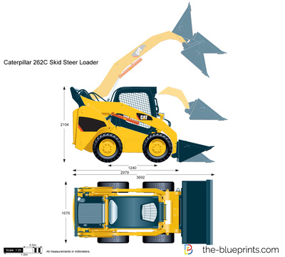 Caterpillar 262C Skid Steer Loader