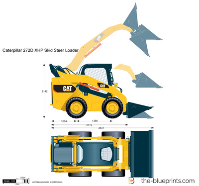 Caterpillar 272D XHP Skid Steer Loader