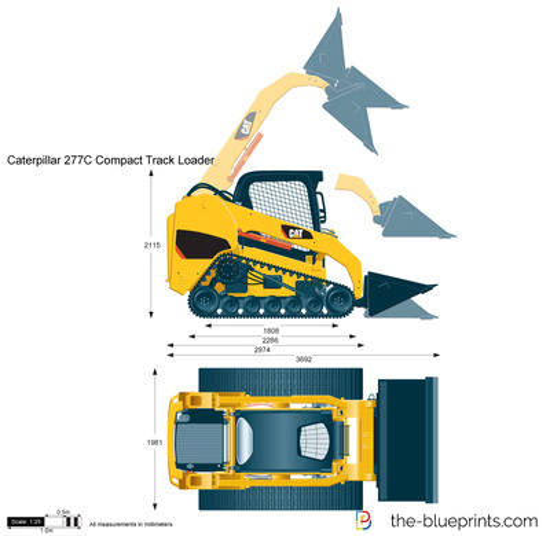 Caterpillar 277C Compact Track Loader