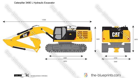 Caterpillar 349E L Hydraulic Excavator
