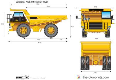 Caterpillar 773E Off-Highway Truck
