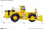 Caterpillar 854G Wheel Dozer