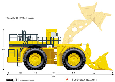 Caterpillar 994D Wheel Loader