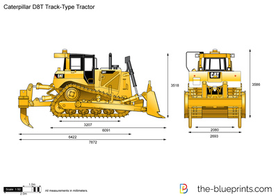Caterpillar D8T Track-Type Tractor