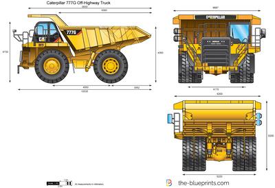 Caterpillar 777G Off-Highway Truck