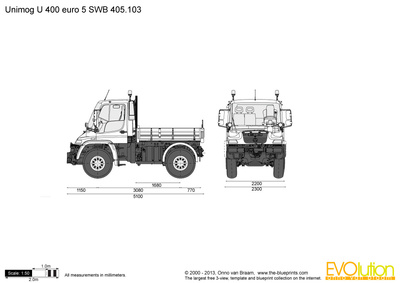 Unimog U 400 euro 5 SWB 405.103