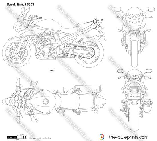 Suzuki Bandit 650S