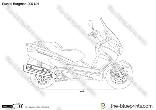 Suzuki Burgman 200 UH
