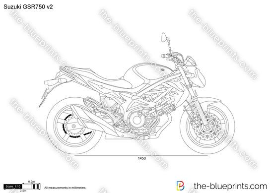 Suzuki GSR750 v2