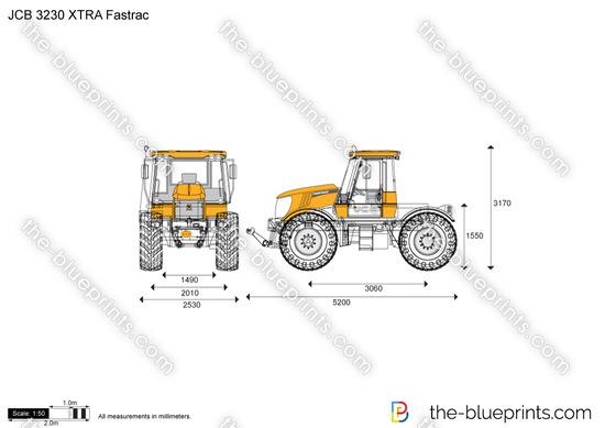 JCB 3230 XTRA Fastrac