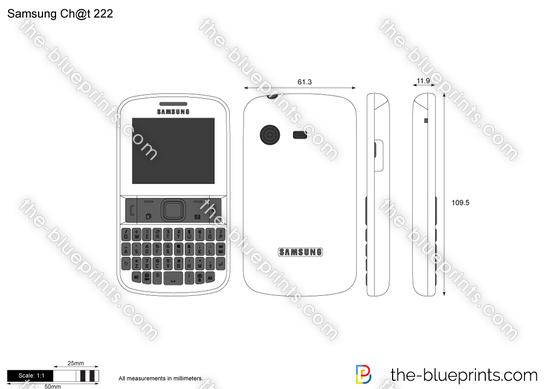 Samsung Ch@t 222