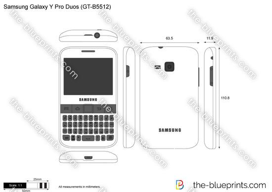 Samsung Galaxy Y Pro Duos (GT-B5512)