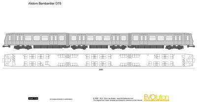 Alstom Bombardier DT5