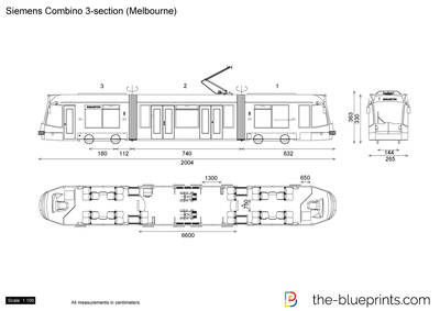 Siemens Combino 3-section (Melbourne)