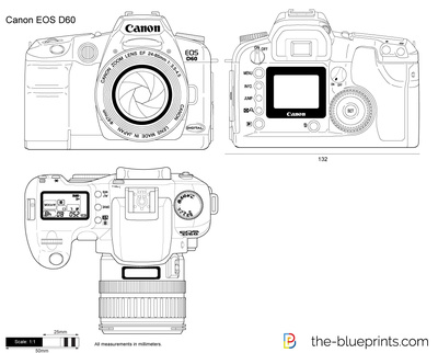 Canon eos d60 vector drawing vector drawing preview malvernweather Choice Image