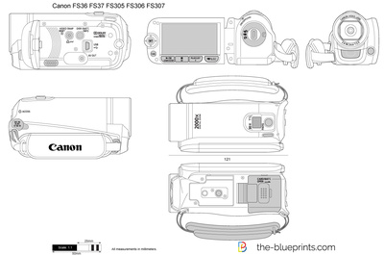Canon FS36 FS37 FS305 FS306 FS307