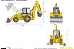 New Holland B95TC Backhoe Loader