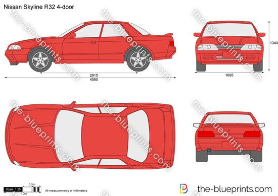 Nissan Skyline R32 4-door