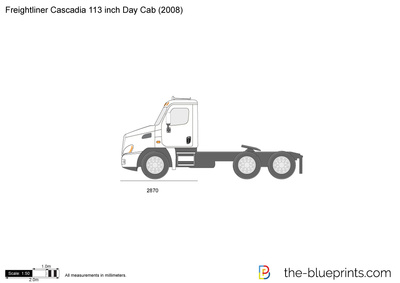 Freightliner Cascadia 113 inch Day Cab