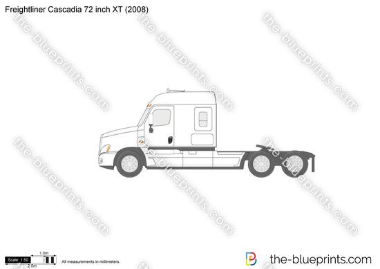 Freightliner Cascadia 72 inch XT