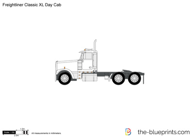 Freightliner Classic XL Day Cab