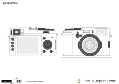 The blueprints vector drawing fujifilm x100s vector drawing preview malvernweather Gallery