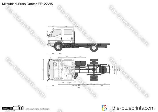 Mitsubishi-Fuso Canter FE122W5