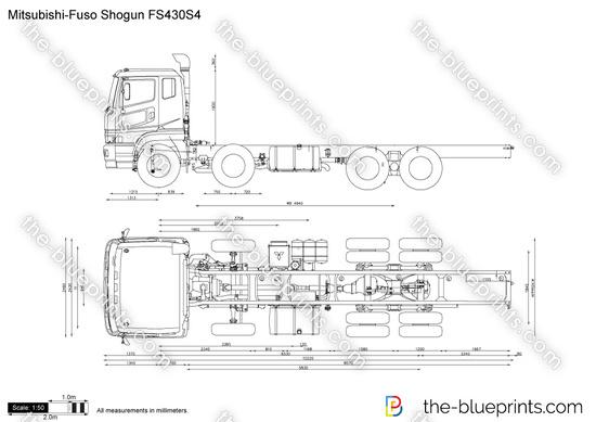 Mitsubishi-Fuso Shogun FS430S4